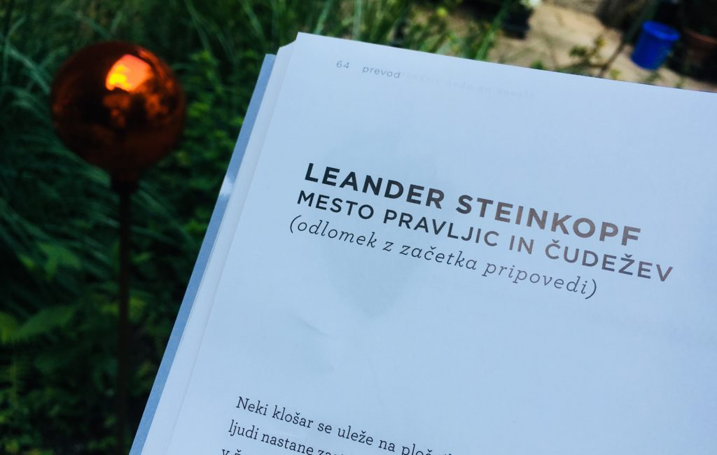 Stadt der Feen und Wünsche auf Slowenisch